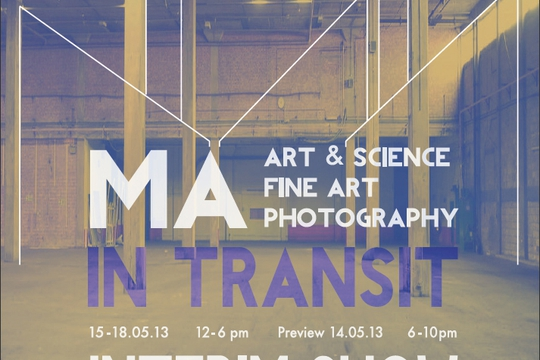 In Transit Exhibition Poster