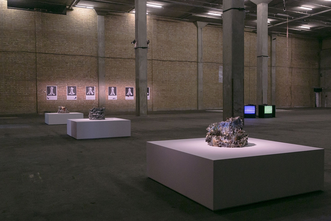 Young London 2013 installation view