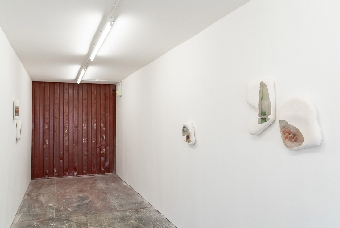 Installation view, Young London, V22 Silvertown Studios (2018)